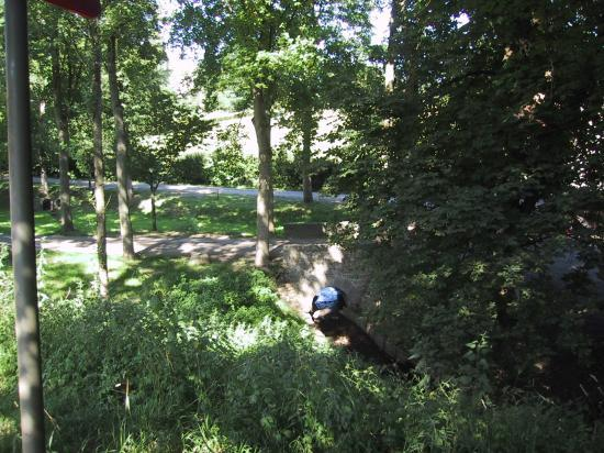 Le ruisseau et le parc